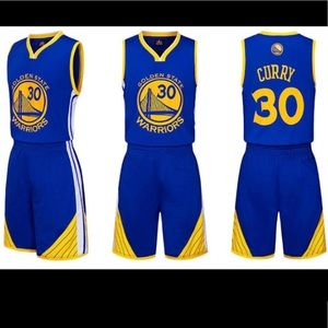Other - 🎈New Boy basketball Jersey sets Curry 30 L